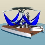 fauteuil flottant