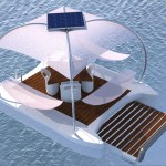 floating sea deck