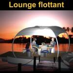 HamacLand Lounge flottant - Salon flottant