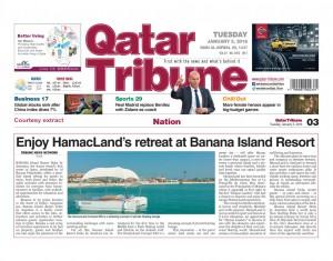 Qatar Tribune 05-01-2016 Courtesy Extract