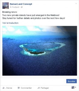 Breaking news: Two new private islands have just emerged in the Maldives!