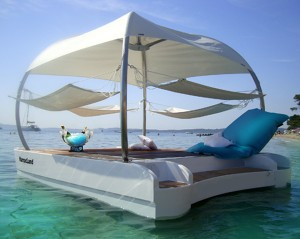 espace flottant VIP privatif