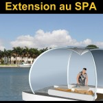 HamacLand Extension privative au SPA