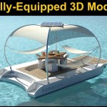 HamacLand Fully Equipped 3D Model