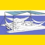 Floating hammock