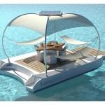 floating sea deck