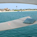 HamacLand private floating VIP lounge