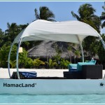 HamacLand Private Multipurpose Floating Lounge: Spa Setup
